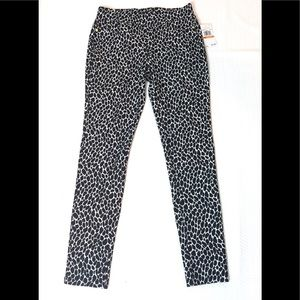 Michael Kors Skinny Jeggings Animal Print NWT